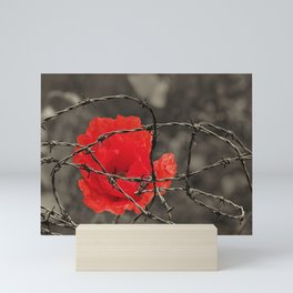 poppy - remembrance Mini Art Print