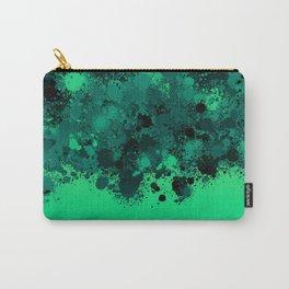 paint splatter on gradient pattern mi Carry-All Pouch