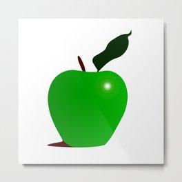 Nice Green Apple Metal Print