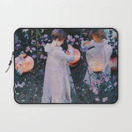 John Singer Sargent - Carnation, lily, lily, rose Laptop Sleeve