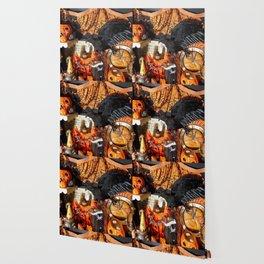 Magical Halloween Menagerie Wallpaper