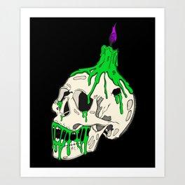 Bonehead Art Print