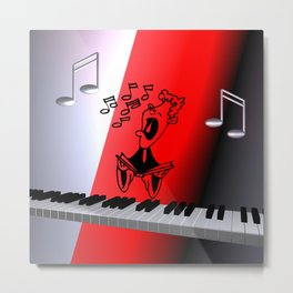 just a song for you -2- Metal Print