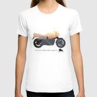 motorbike T-shirts featuring motorbike- photo of freedom by GO-BIKE-GO