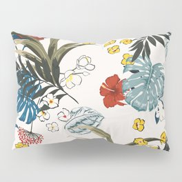 Tropical pattern Pillow Sham