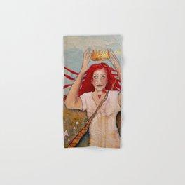 Crowning Herself Hand & Bath Towel