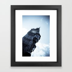 Big Ben Theory Framed Art Print