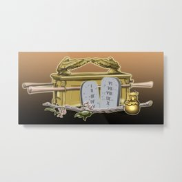 The Ark of the Covenant Metal Print