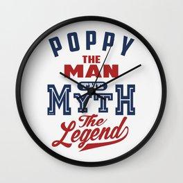 Gift for Poppy Wall Clock