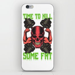 Time To Kill Some Fat iPhone Skin