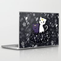 sailormoon Laptop & iPad Skins featuring Sailormoon Luna and Artemis by Mayying