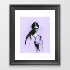 Cloaked Framed Art Print