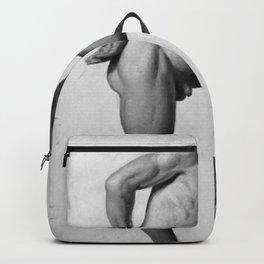 Constantin Hansen - Mandlig model Backpack