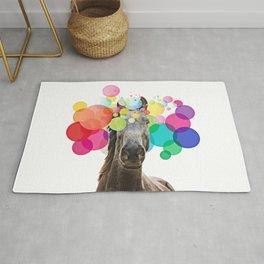 Horse Pop Art Rug