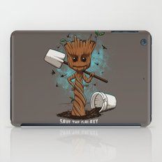 Plant a tree iPad Case