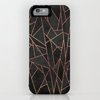 iPhone 6 Power Case featuring Shattered Black / 2 by Elisabeth Fredriksson