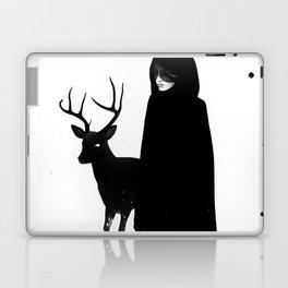 Absentia in white Laptop & iPad Skin