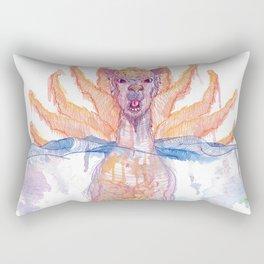 Paper Jam Poster by McKenna Sendall Rectangular Pillow