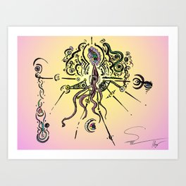 Religion 2099 Art Print