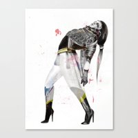the xx Canvas Prints featuring xx by Felicia Atanasiu