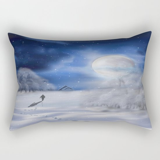 Winter Dreams Rectangular Pillow