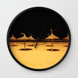 Shades in the Night Wall Clock