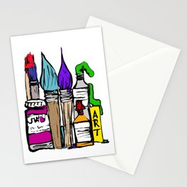 Art About Art 1 in Colour Stationery Cards