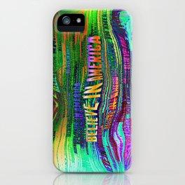 Believe In America iPhone Case