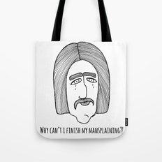 Mansplaining Tote Bag