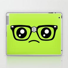 Sad little nerd. Laptop & iPad Skin