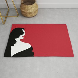 Red woman n1 Rug