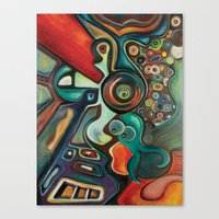 phish Canvas Prints featuring Phish by Dena Nord