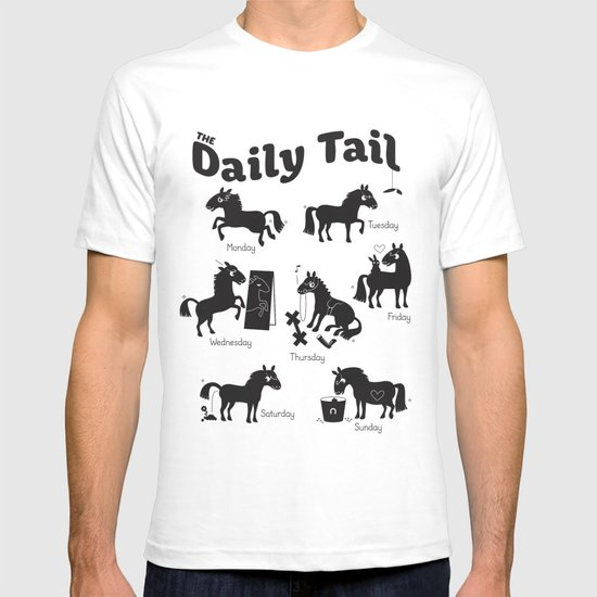 The Daily Tail Horse T-shirt