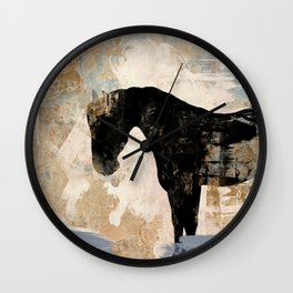 Modern Day Horse Wall Clock