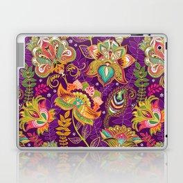 Floral Boho Pattern Laptop & iPad Skin