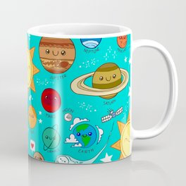 Planet party Coffee Mug