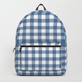 Gingham - Classic Blue Backpack