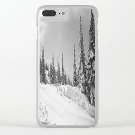 Winter day 25 Clear iPhone Case