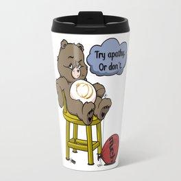 Apathy Bear Travel Mug