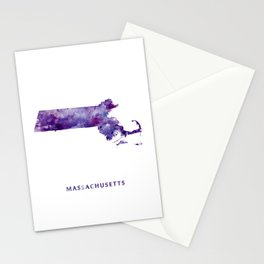 Massachusetts Stationery Cards