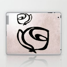 Flowers, Mother-Daughter, Pink Laptop & iPad Skin