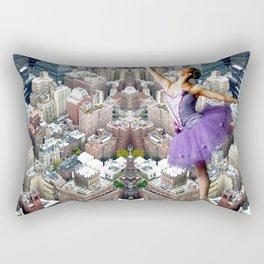 skyscrapers ballerina Rectangular Pillow