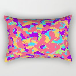 Party camo Rectangular Pillow