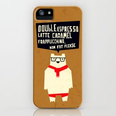 Yeti wants Coffee! iPhone (5, 5s) Slim Case