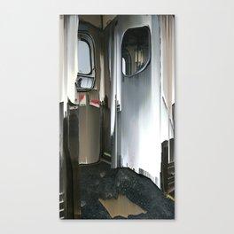 Subway Door Canvas Print