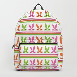 NEON BUNNY STRIPE Backpack