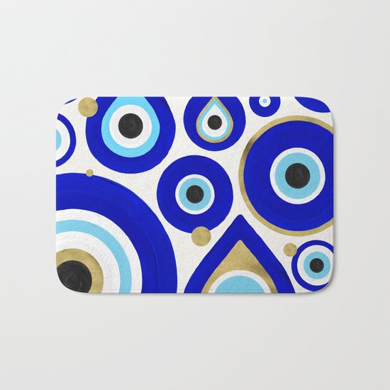 Evil Eye Charms on White by catcoq