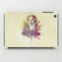 beethoven iPad Cases featuring Beethoven by Rafal Rola