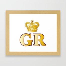 Georges Reign Framed Art Print