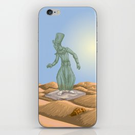 Ozymandias and the Urn iPhone Skin